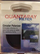 10 NEW 49mm CIRCULAR POLARIZER Lens FILTER CPL 49 mm PL-CIR Quantaray P-CL JAPAN