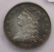 1834-P 1834 Capped Bust Quarter 25c ICG AU50 Details beautiful look