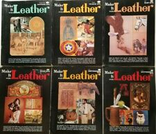 Make it Leather vintage Magazines 6 issues 1978 complete pullouts patterns