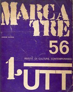 Marcatre UTT n. 56, 1970 (nuova numerazione n. 1)