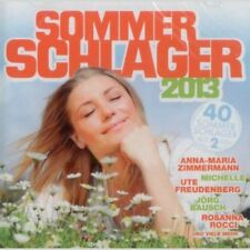 Sommerschlager 2013 - Doppel CD Pop, Deutsch-Pop, Schlager