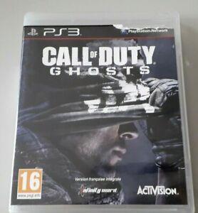 """Jeu PS 3 """"Call of Duty Ghosts"""" en loose (N°2757)"""
