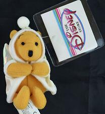 "Disney Winnie the Pooh ANGEL 4"" Magnetic Plush mini magnet doll NEW"