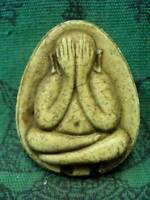 Phra Pidta Jumbo Talisman Takrut LP Toh Wat Pradu Chimplee Thai Buddha Amulet