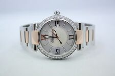 CHOPARD IMPERIALE TWO TONE 18K ROSE GOLD SS DIAMOND ENCRUSTED WATCH 388531/6002