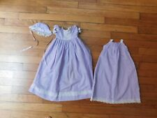 Doll Dress set (Dress, Slip, Cap)