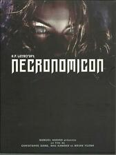 H.P. Lovecraft's Necronomicon (1993) 2 DVD