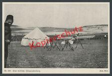 Kaiserliche Fliegertruppe Palästinafront Flugplatz Zelt Feldflieger Sinai 1915