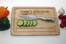 Personalised chopping board for Mums - Mothers Day, Birthdays, Christmas present
