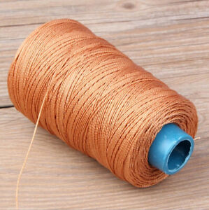 320y 0.6mm Nylon Waxed Thread Shoe Bag Leather Sewing Stitching Polyester Cord