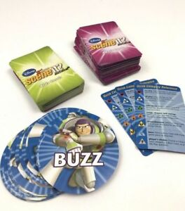 Scene It Disney 2nd Edition Game Replacement Parts Adult Kids Pieces Buzz Cards