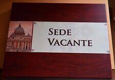 Vatikan Silber Sedisvakanz / Sede Vacante, 7 Münzen in edler Holzbox