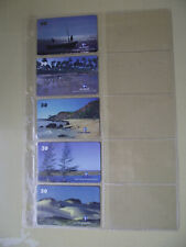 BEACHES ESPIRITO SANTO Complete Set 10 Different Phone Cards from Brazil