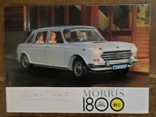 MORRIS 1800 Mk.II orig 1968 UK Mkt Sales Brochure - BMC 2513/A