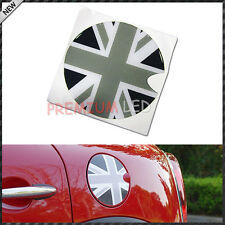 MINI COOPER F55 F56 GREY Union Jack Adesivo Auto FUEL CAP COPERCHIO Decalcomania