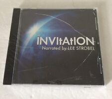 Lee Strobel - The Invitation ~ Music CD ~Rare Christian Gospel