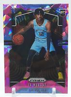 Ja Morant 2019-20 Prizm Pink Cracked Ice #249 Rookie Card RC ROY Grizzlies 🔥🔥