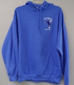 NFL Baltimore Colts 1960's Logo Hoodie Shirt S-5XL, LT-4XLT Indianapolis AFL New