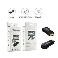Miracast Mini Wifi Display TV Dongle Receiver 1080P HDMI Wireless AirPlay DLNA