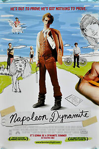 Home Wall Art Print - Vintage Movie Film Poster - NAPOLEON DYNAMITE -A4,A3,A2,A1