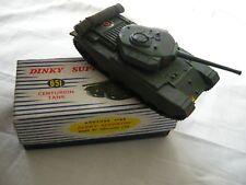 DINKY TOYS MODEL No 651 CENTURION TANK VN MIB
