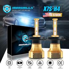 New listing 4-sides H4 Hb2 9003 2500W 375000Lm 4-Sided Led Headlight Hi/Lo Power Bulb 6000K