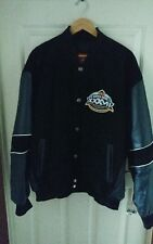 MENS SUPERBOWL SAN DIEGO CALIFORNIA  XXXV11  NFL LEATHER JACKET NWT