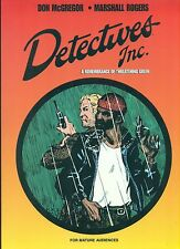 DETECTIVES INC. Don McGregor & Marshall Rogers (1999) Image Comics TPB signed