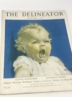 DELINEATOR Magazine January 1926 Fashion Needlework Health & Beauty Ads