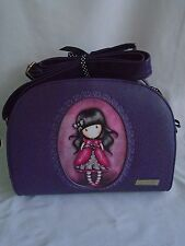GORJUSS BY SANTORO -  LADYBIRD DESIGN  EMBOSSED ROCOCO SHOULDER BAG - NEW