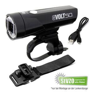 Cateye Gvolt 50 LED Fahrradlicht für Lenker oder als Helmlampe
