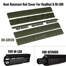 "Trinity Force 4.76"" HEAT RESISTANT Rail Covers Pack of 5 For KeyMod & M-LOK, OD"