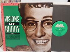 Visions Of BUDDY HOLLY The Red Robinson Interview Crickets Eric Clapton NM LP