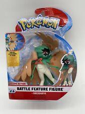 Pokemon Deluxe Action Battle Figure Decidueye New