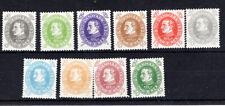 Denmark - 1930 King Christian X set Mh