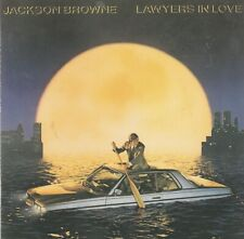 Jackson Browne – Lawyers In Love CD Made in Germany Asylum Records - 9 60268-2