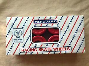 Vanguard NOS Vintage  Red Devils Quad Skate Wheels Converted/Precision