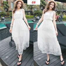 Sexy Women Evening Party Dress Chiffon Dress Summer Beach Dresses -2