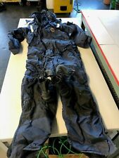 MUSTANG SURVIVAL  DELUXE ANTI-EXPOSURE COVERALL AND WORKSUIT Size Medium 2175