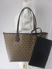 NWT Michael Kors Candy Large Reversible Tote Khaki MK Signature Various Colors