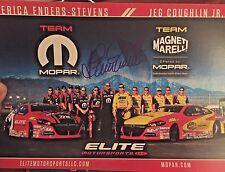 ERICA ENDERS -Stevens Signed Autograph NHRA PRO STOCK CAR  Hero Card 2016