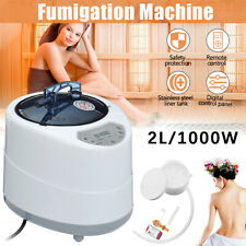 2L Sauna Steamer Pot Home SPA Steam Portable Skin Slim 1000W 110V Large Steam