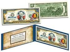 ALABAMA $2 Statehood AL State Two-Dollar US Bill *Genuine Legal Tender* w/Folio