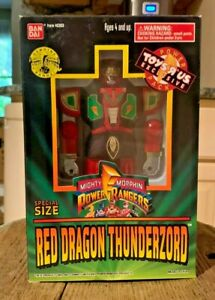 Mighty Morphin Power Rangers Special Size Red Dragon Thunderzord ToysRus