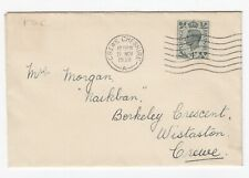 More details for gb. kg vi 1938 sg468, 4d grey-green  fdc to crewe - 21/11/1938