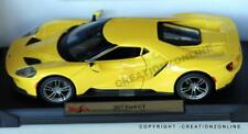 2017 FORD GT  1:18 MAISTO SPECIAL EDITION MODEL CAR YELLOW SPORTS NEW