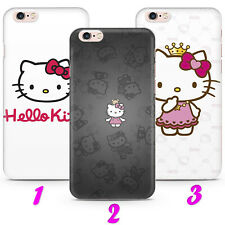 HELLO KITTY 1 CARTOON CAT FUNNY Case Cover iPhone 4 5 SE 2 6 7 8 X s MAX plus XR