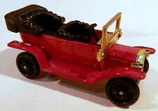 """Tomica #F11 1920's Ford Model T 4-Door """"Touring"""" Red Color 1:60 Scale"""