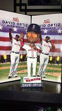 David Ortiz Boston Red Sox SGA Farewell Bobblehead 8/9/16 With Game Ticket - NIB