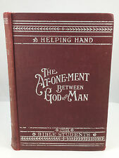 1908 The Atonement Between God and Man Watchtower Jehovah Studies in Scriptures